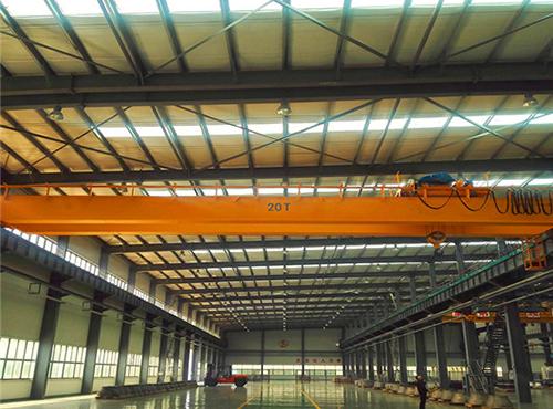 20-ton-overhead-cranes with jib crane