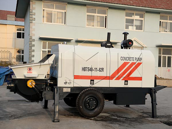 40 m3 diesel concrete pump