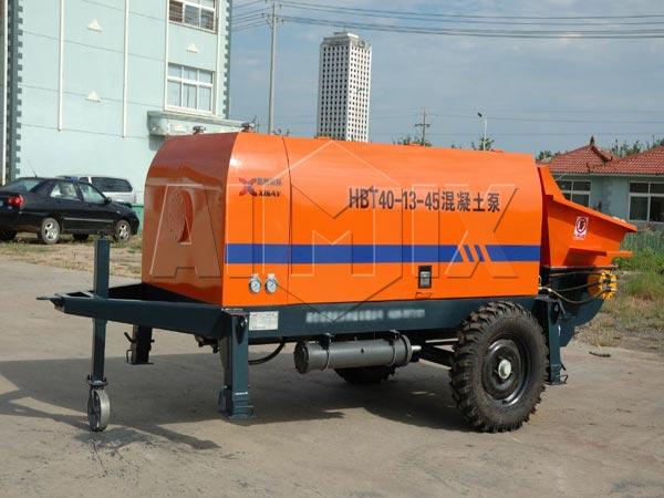 40m3/h electric concrete pump