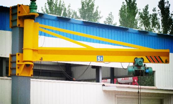 Operate Wall-Mounted Cantilever Crane