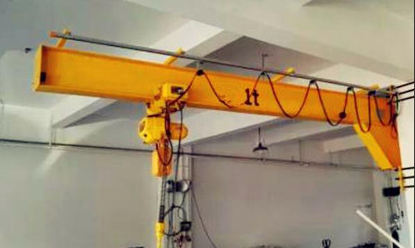Operate Wall-Mounted Cantilever Cranes