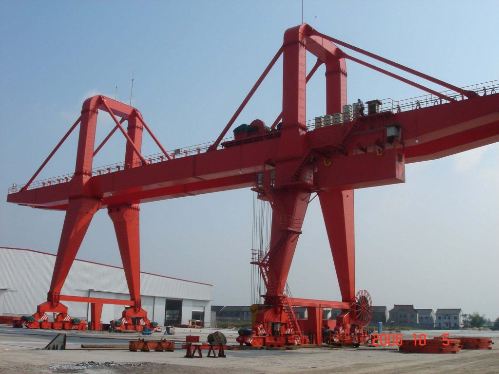 Rail Monted Gantry Crane With Large Capacity