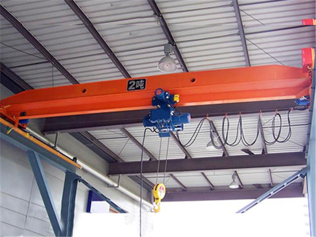 2 ton Single Girder Overhead Crane