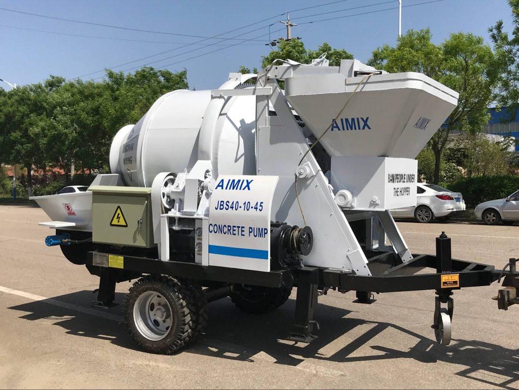 Concrete Pump Of AIMIX